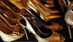 Złote buty - trend na karnawał 2014!