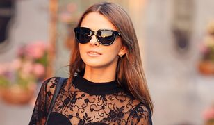 Czarna sukienka z koronką nie jest zarezerwowana tylko na wielkie wyjścia