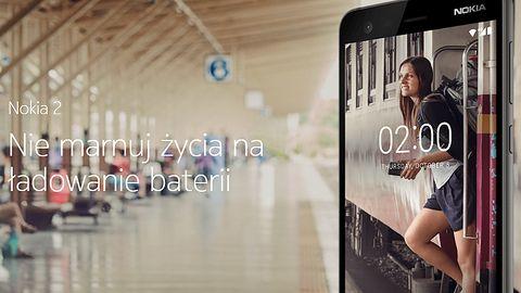 Nokia 2: akumulator 4100 mAh, by nie marnować życia na ładowanie