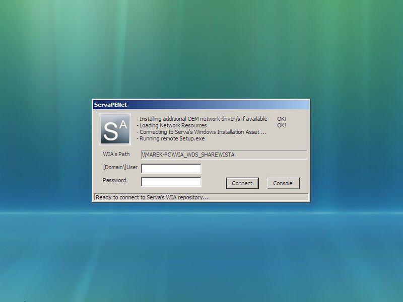 Serva — sposób na instalację Windows poprzez sieć LAN za pomocą PXE