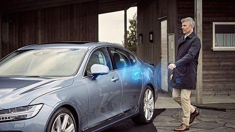Volvo chce całkowicie zastąpić kluczyki samochodowe aplikacją mobilną