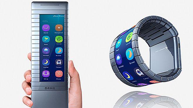 Moxi: pierwszy elastyczny smartfon z grafenu pojawi się w Chinach