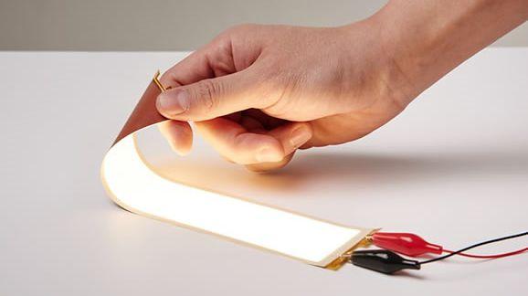 Plastikowe, wygięte ekrany OLED od LG nie będą pękać