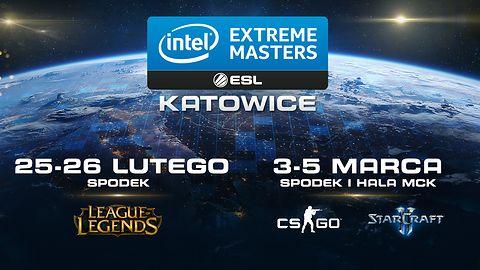 Dwa finały Intel Extreme Masters Katowice 2017 z pulą nagród 2,5 miliona złotych! #IEM