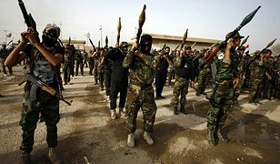 Saraya al-Salam (Brygady Pokoju) - szyickie oddziały wspierające rząd Iraku w walce z Państwem Islamskim
