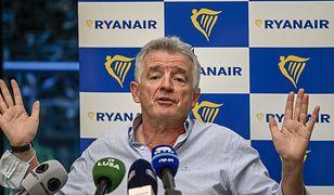 """Rayanair. Lotnisko w Radomiu to """"jeden z najgłupszych pomysłów"""" - mówi O'Leary"""