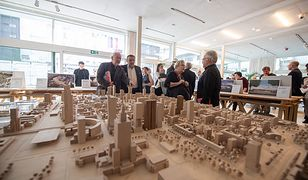 Warszawa. Wystawa na temat architektury miasta