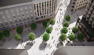 Warszawa. Plac Pięciu Rogów nową przestrzenią publiczną w centrum miasta