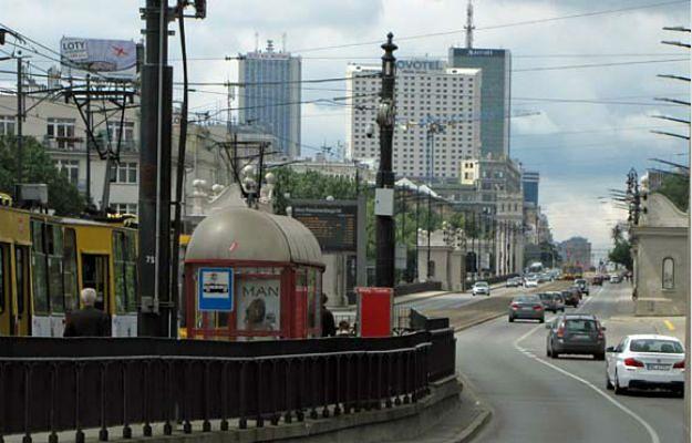 Głównym objazdem zamkniętego po pożarze Mostu Łazienkowskiego jest Most Poniatowskiego