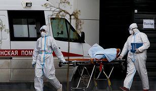 Koronawirus. Rosja. Najwięcej nowych przypadków do początku pandemii