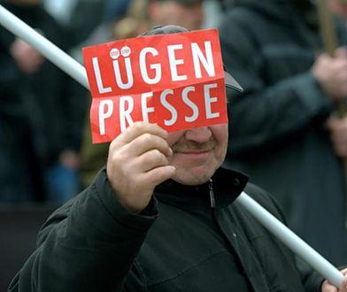 Luegen Presse, czyli zakłamana prasa. Coraz więcej Niemców nie wierzy mediom