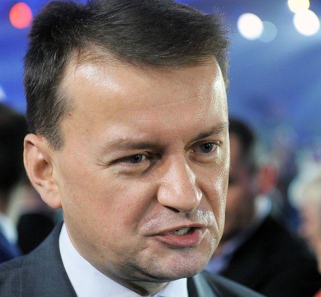 Mariusz Błaszczak, szef Ministerstwa Obrony Narodowej