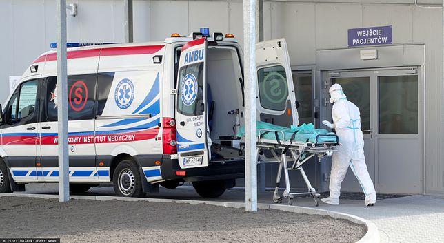 Szpital w Łodzi wstrzymał przyjmowanie pacjentów z COVID-19/ Zdjęcie ilustracyjne
