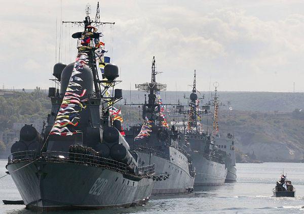 """""""Niezawisimaja Gazieta"""": podwyższono gotowość Floty Czarnomorskiej"""