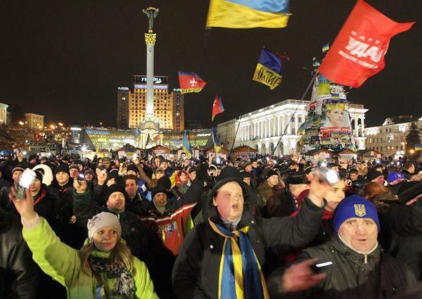 W Kijowie rozpoczął się kolejny wiec opozycji