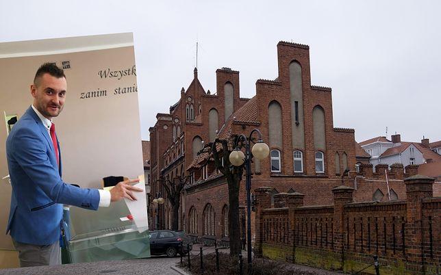 """Wybory prezydenckie 2020. Kwidzyn. Radny PiS o Robercie Biedroniu: """"Homoś""""."""