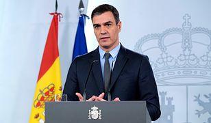 Koronawirus w Hiszpanii. Premier Pedro Sanchez