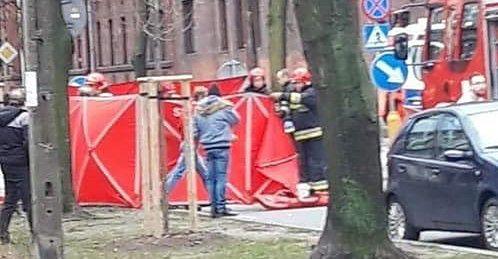 Żyrardów. Miejsce wypadku, gdzie w niedzielę 74-latek potrącił 3 osoby