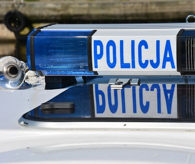 Warszawa. Zderzenie auta z motocyklem we Włochach