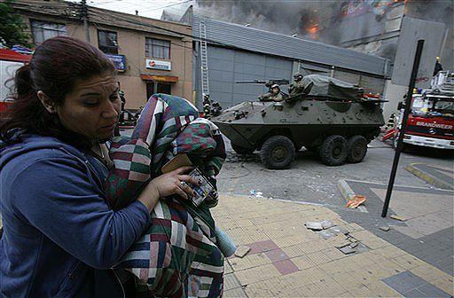"""14 tys. żołnierzy w Concepcion; """"wszystko pod kontrolą"""""""