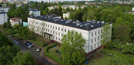 Sosnowiec. Oddział Górnośląski Państwowego Instytutu Geologicznego od lat 60-tych znajduje się w Sosnowcu.