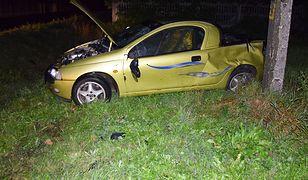 Wstępnie śledczy zakładają, że auto prowadził 17-latek, który zginął