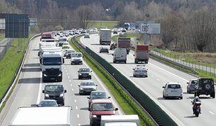 Kierowcy muszą zjechać z autostrady