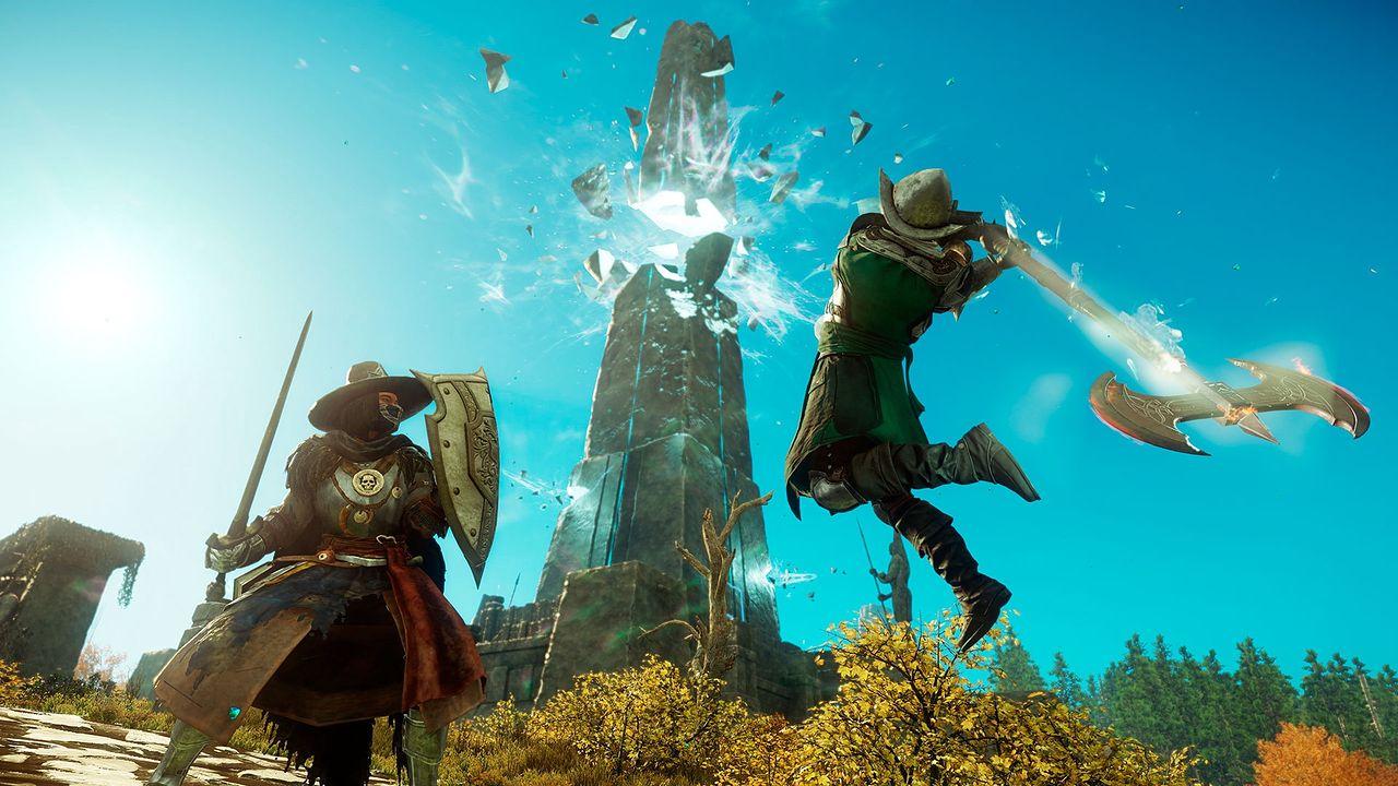 New World piątą najpopularniejszą grą na Steam. Do miliona graczy trochę zabrakło - New World od Amazon