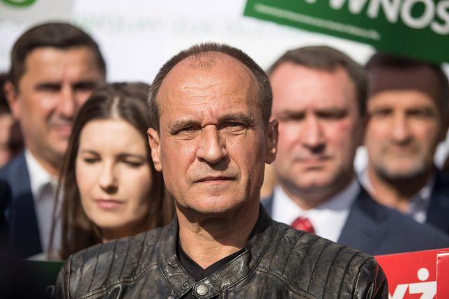 Wybory parlamentarne 2019. Paweł Kukiz na konwencji PSL-Koalicja Polska