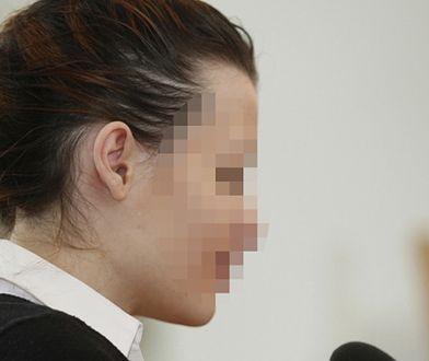 Katarzyna W. w sądzie