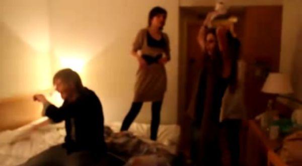 Uczestnicy programu zdemolowali hotelowy pokój!