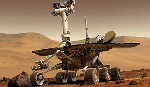 Robot bada powierzchnię Marsa od 25 stycznia 2004 roku