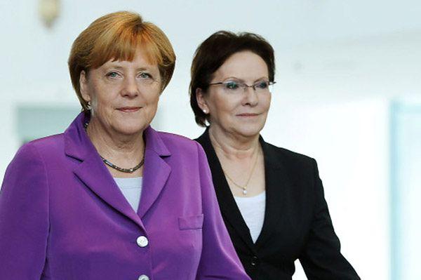 Merkel po spotkaniu z Ewą Kopacz: między nami jest polityczna chemia