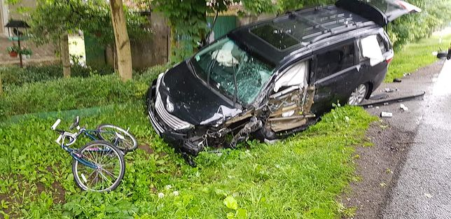 Na szczęście, nikt poważnie nie ucierpiał w wypadku