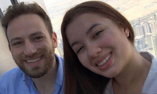 Zamordowana Caroline Crouch z mężem