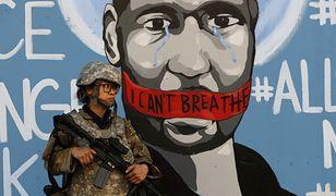 Śmierć George'a Floyda wywołała protesty w USA