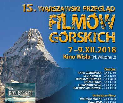 15. Warszawski Przegląd Filmów Górskich. Mamy program!