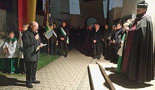 Ks. Artur Żuk, Dzień Żałoby Narodowej w Enkering