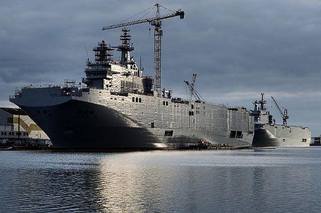 Francja ma zwrócić Rosji 950 mln euro za kontrakt na mistrale