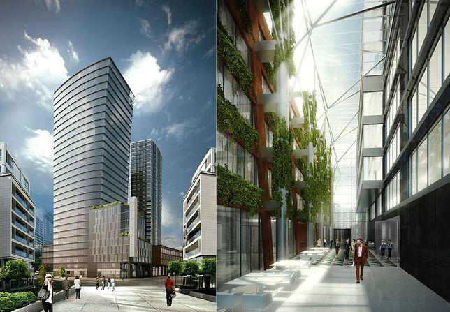 Dwie wieże staną w Warszawie