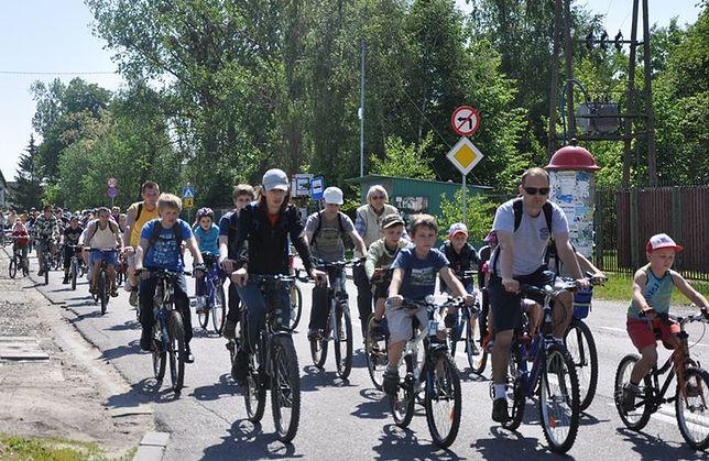 6. rajd rowerowy w Łomiankach w niedzielę