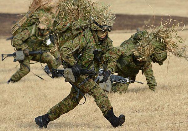 Ćwiczenia Japońskich Sił Samoobrony