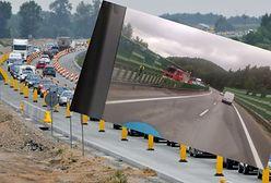 Zderzenie ciężarówek na obwodnicy Trójmiasta. Dwie osoby są poszkodowane i zablokowana droga do Gdyni