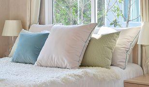 Poduszki należy prać w specjalny sposób