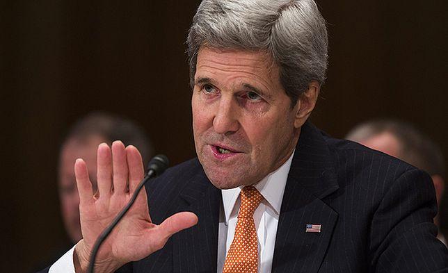 John Kerry: przedstawiciele Rosji kłamali mi w twarz