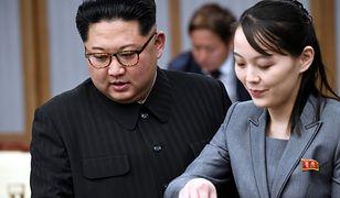 KIm Dzong Un i Kim Jo Dzong w 2018 r.