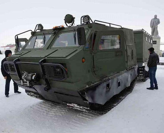 """Nowy rosyjski """"arktyczny"""" wóz opancerzony"""
