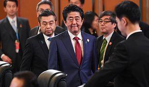 Konflikt na Bliskim Wschodzie. Premier Japonii Shinzo Abe zabiera głos.