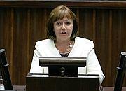 Minister pracy Jolanty Fedak w Sejmie