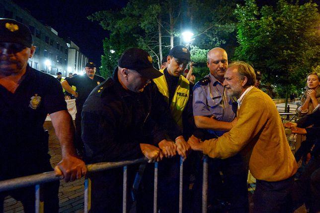 Są wnioski o ukaranie po nocnej demonstracji przed Sejmem